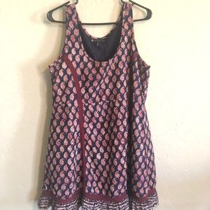 House of Harlow 1960 Boho Babydoll Tank Dress
